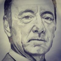 Kevin Spacey by bloatedwhalecorpse