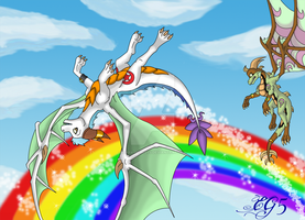 CE: Reaching New Heights by Dark-Genesys