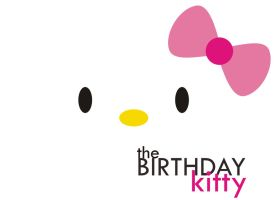 the birthday kitty by Luphydzzz