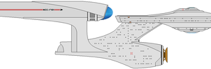 Uss Enterprise Ncc-1701 by Lookatmyamazingshoe
