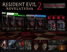 Resident Evil Revelations 2 - Retail Box Set by TheARKSGuardian