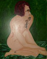 Self in Oils by ashkara2001