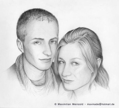 Couple  Portrait by MaxMade