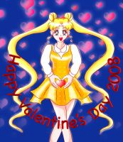Sailor Moon Valentine 2008 by KinnoHitsuji