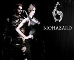 RE6 Helena and Piers Wallp 4 KINGODM-HEARTS-FAN by Kijuju8