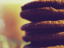 Cookies + Soymilk by 48photography
