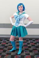 Sailor Mercury Casual Pose by smithers456