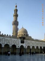 Azhar Mosque by asiaibr