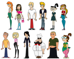 Total Drama Myths Season 5 Cast by MRXalekey