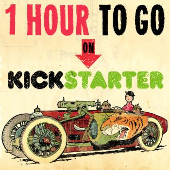 LAST CALL! ONE HOUR left to get my NEW ARTBOOK! by STUDIOBLINKTWICE