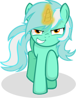 Lyra Heartstrings -Finally- by Godoffury