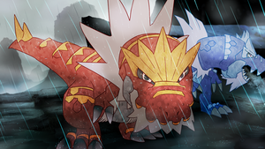 Day 298 - Gachigoras | Tyrantrum (Shiny) by AutobotTesla
