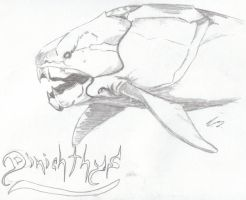 Dinichthys by Gothie666