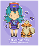 Officer Jenny by SqueakyToybox