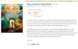Percy Jackson Greek Gods New Book!!!!!!!!!!!!!!!!! by PJOfan22