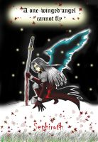 One-Winged Angel by AngelofDeathz