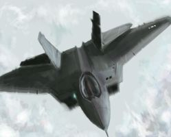 Fighter Jet by PiletX