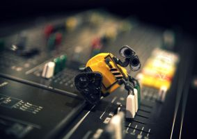 WALLE at HQ - 15 by iloyd