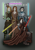 Starwars Destiny of the Jedi by Emma-O-Lantern