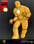 TRDL - Iron Man MK II Gold by TRDLcomics