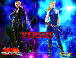 Nina Williams VS Sarah Bryant by BeeVue