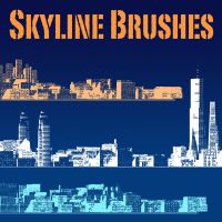 Skyline Brushes by metabolid