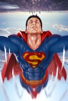 superman painting by brahamil