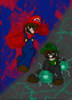 Battle Between Brothers 2 by dark-luigi101