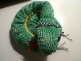 Slytherin Snake by LeaWer