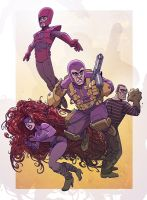 Frightful Four by jimmymcwicked