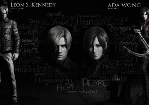 RE6 Leon and Ada by Ada-hime