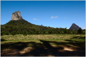 Glasshouse Mountains 2 by wildplaces