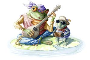 Musical Frogs by LopiLala