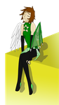 Art Trade: Emerald by CelticProtangonist