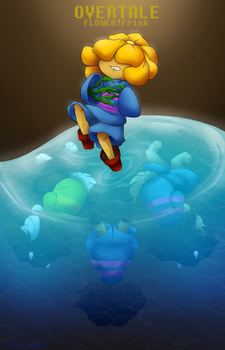 Overtale Flower!Frisk Cover by HezuNeutral