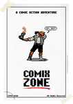Comix Zone poster by Hankok-star
