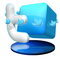 Twitter dock icon by Ornorm