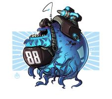 88 Blue by DeadSlug