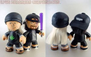 2009 SDCC Jay and Silent Bob by KyleRobinsonCustoms