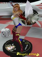 Heroclix Justicegirl by Angelic-Kitten-Art