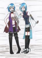 BadA** Aqua and BBS Aqua for CronosTime by kittyneko903