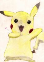 Colored Pikachu :D by OMFGBrot