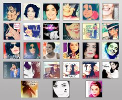 MJ icons set two by Meggy-MJJ
