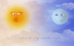 When The Day Met The Night... by wouldilie2u