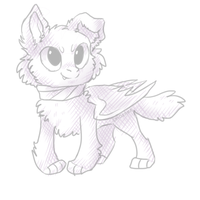 Sketchtrade with griffsnuff by Smushey