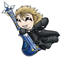 Demyx Chibi by RedPawDesigns