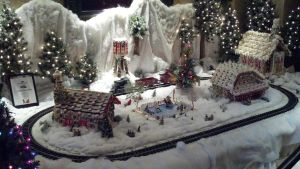 Christmas Gingerbread Village by Spaz-Twitch11-15-10
