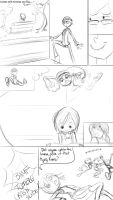 Llamas and Tay comic-sketch of the day by bunnimation