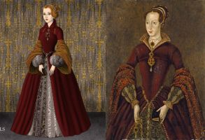 The Lady Jane Grey by Inuyashasmate