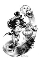 Zatanna by Ood-Serriere
